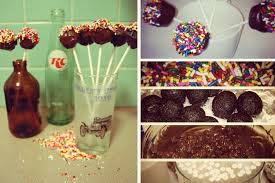 the best little vegan chocolate cake pops on the planet