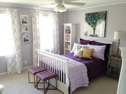 room to grow up we give a little girl a big girl bedroom purple and grey bedroom