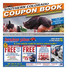 southern colorado coupon book pueblo chieftain