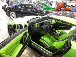 nissan skyline 2014 custom nissan gt r custom interior lime green and black hexagon stitch
