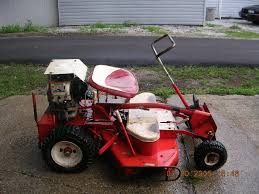 This Is One Of Snappers First Rear Engine Mowers It Was The