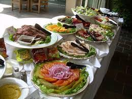 deli buffet catering menu skinner u0027s catering