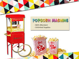 popcorn rental machine food machine rental dubai event management company in dubai