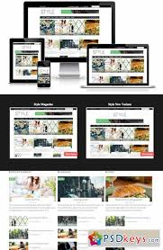 free magazine blogger template sale style magazine blogger template 295948 free download