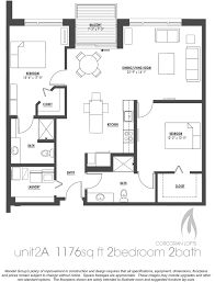 2 bedroom with loft house plans gaslight and corcoran lofts apartments by mandel milwaukee