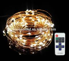 new design micro mini led rice lights on copper wire remote by