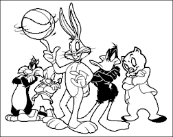 looney tunes coloring pages printable coloring