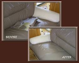 How To Fix Ripped Leather Sofa Restuffing Fixed Leather Sofa Cushions Centerfieldbar Com