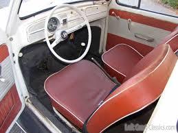 Old Beetle Interior 1963 Volkswagen Bug For Sale
