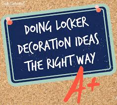 Locker Wallpaper Diy by Doing Locker Decoration Ideas The Right Way