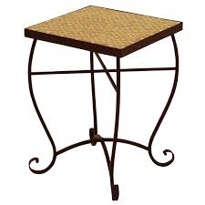 Mosaic Accent Table Stylish Mosaic Accent Table Handmade Mosaic And Iron Accent Table