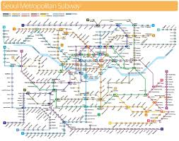Barcelona Subway Map by Seoul Metropolitan Subway Map