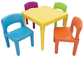 tot tutors table and chair set tot tutors plastic table and 4 chairs set toys r us
