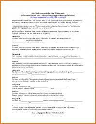 basic resume objective examples in general job first example
