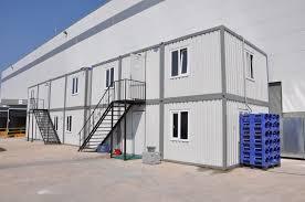 interior modular prefab flat pack construction sight buidings