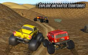 rally truck racing big monster truck rally racing 4x4 up hill climb android apps