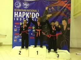 kontingen beladiri hapkido dari yonmarhanlan iv tanjungpinang raih