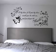 bedroom home garden home decor decals stickers vinyl art wall full size of if i just lay here bedroom wall decals