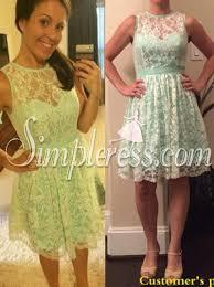 mint lace bridesmaid dresses buy new arrival knee length mint lace bridesmaid dress