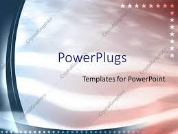 American Flag Powerpoint Background Powerpoint Template American Flag Patriotic United States 18038