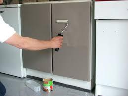 peindre meuble cuisine mélaminé repeindre un meuble de cuisine en mélaminé maison et meuble de maison