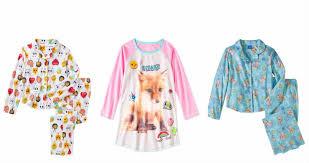 clearance pajamas as low as 3 50 at walmart mojosavings