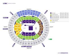 lsu gymnastics seating chart maravich center lsusports net