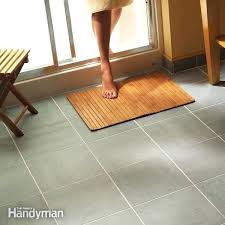 Heated Bathroom Floors Heated Floor Tiles Cost Gallery Home Flooring Design