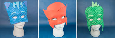 diy pj masks u2013 owlette catboy gekko masks wholesale