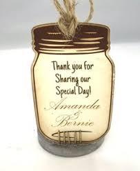 Mason Jar Wedding Programs Custom Mason Jar Wedding Program Wedding Ideas Pinterest