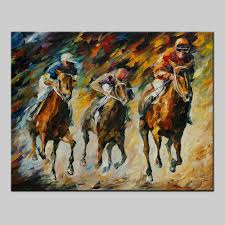 Horse Decorations For Home Online Get Cheap Horse Racing Painting Aliexpress Com Alibaba Group