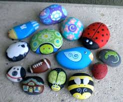 Painting Rocks For Garden Rock Decorating Ideas Photos Rock Garden Decorating Ideas