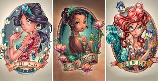 tim shumate disney princess modified princesses tim shumate