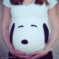Snoopy Halloween Costumes Snoopy Pregnancy Halloween Costume