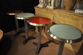 Mid Century Bistro Table Set Of 4 Vintage Mid Century Bistro Tables Sold
