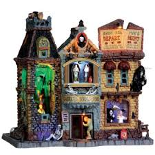lemax spooky town lemax spooky town collectibles lemax spooky town lighted