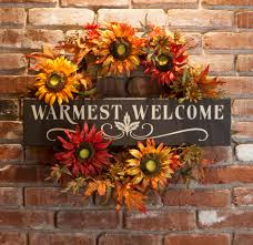 Sunflower Home Decor by For Fall Decorating Cesio Us