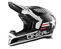 flat black motocross helmet fury rl ii helmet
