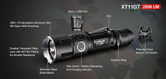 led len fã rs badezimmer klarus xt11gt 2000 lumen cree xhp35 rechargeable tactical led