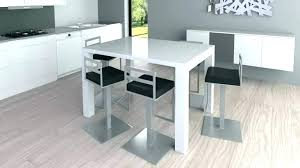 table encastrable cuisine excellent table haute avec tabouret cuisine bar de pliante excellent