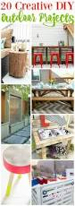20 creative outdoor diy projects the happy housie