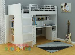Neptune Study Bunk Awesome Beds  Kids - Study bunk bed