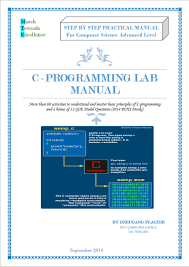 c programming lab manual for csc a l placide u0027s personal blog