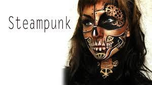 steampunk halloween makeup tutorial youtube