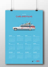 where to buy 2016 wall calendar ghostbusters car movie poster