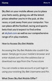sky bet apk myskbt mobile 1 0 apk android sports