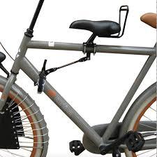 siege enfant avant velo coussin pour porte bagage arrière sur mes vélos hollandais