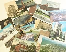 photo postcard postcard etsy