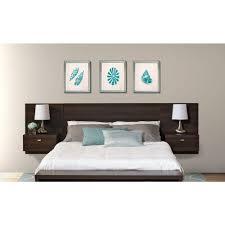 prepac series 9 1 piece espresso queen bedroom set ehhq 0520 2k
