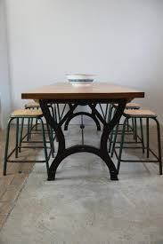 industrial kitchen table furniture vintage industrial dining table for sale at pamono